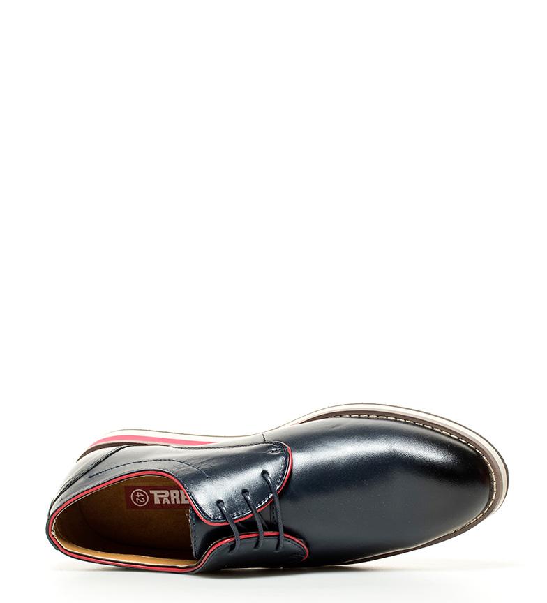 Comprar paredes zapatos de piel atenas azul marino for Paredes zapatos