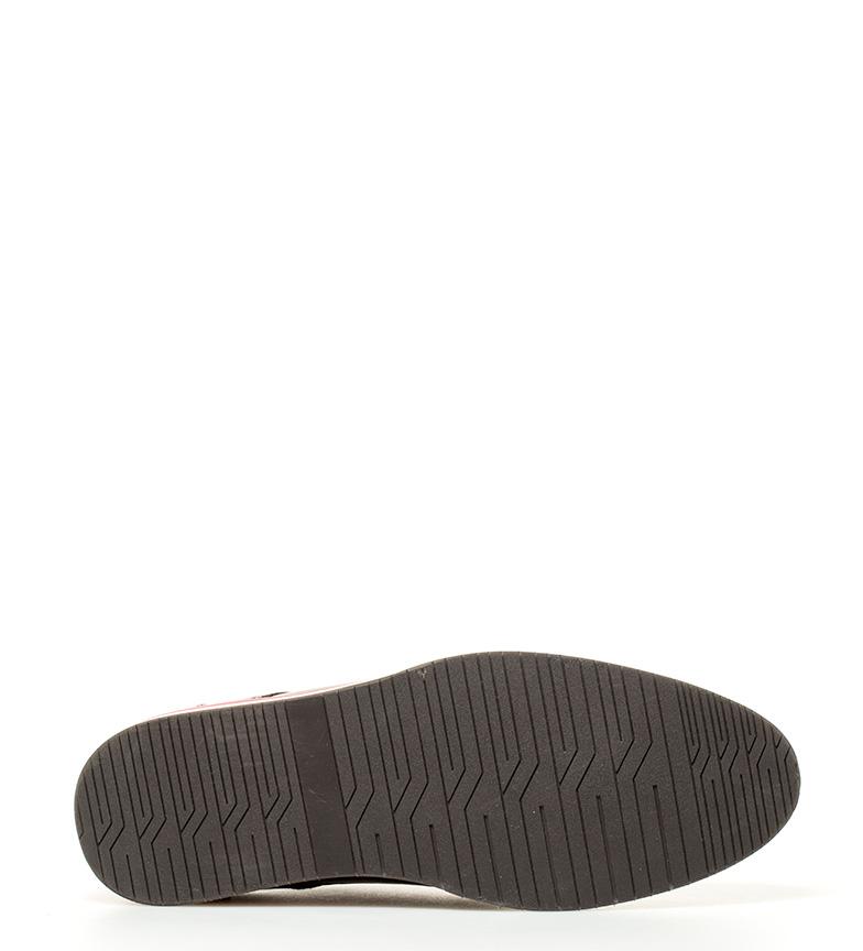 Paredes Zapatos de piel Atenas marrón oscuro