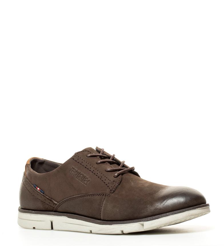 Comprar paredes zapatos de piel platea marr n oscuro for Paredes zapatos
