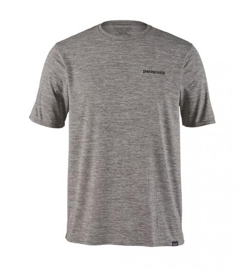Comprar Patagonia Camiseta Cap Cool Daily Graphic gris, P-6 logo / 128g / UPF 50+ / Polygiene / MiDori