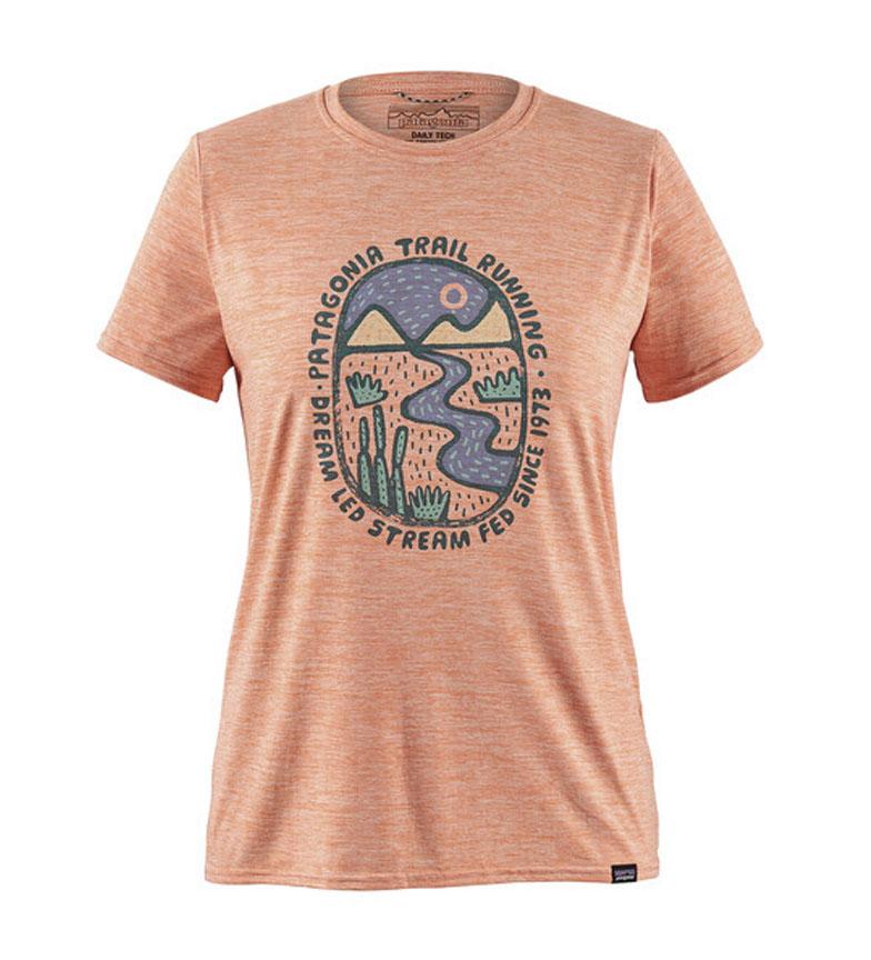 Comprar Patagonia Camiseta Cool Graphic naranja / MiDori / UPF 50+ / 105g
