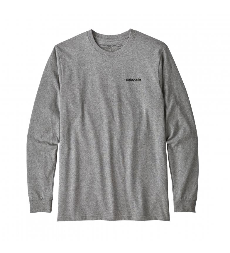 Comprar Patagonia Camiseta M's P-6 Logo Responsibili gris