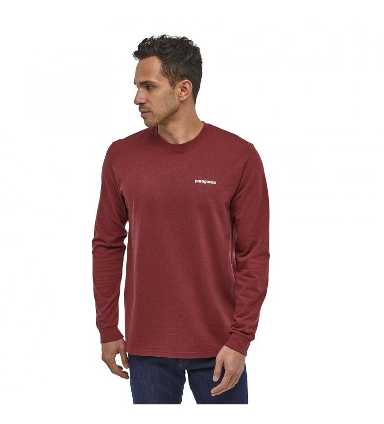 Comprar Patagonia T-shirt M's P-6 Logo Responsibili rosso