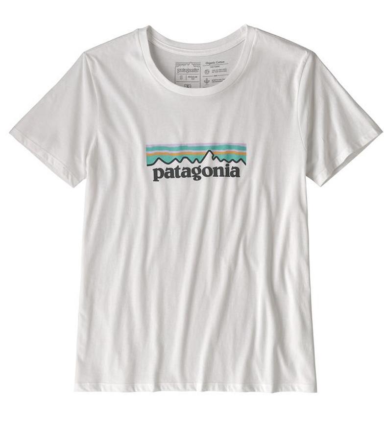Comprar Patagonia Camiseta Patagonia Logo blanco