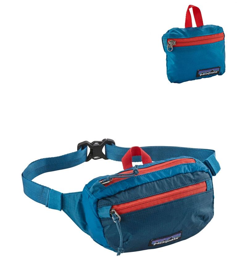 Comprar Patagonia LW Borsa da viaggio Bum bag blu, rosso / 1L / 99g / 36x24x45cm
