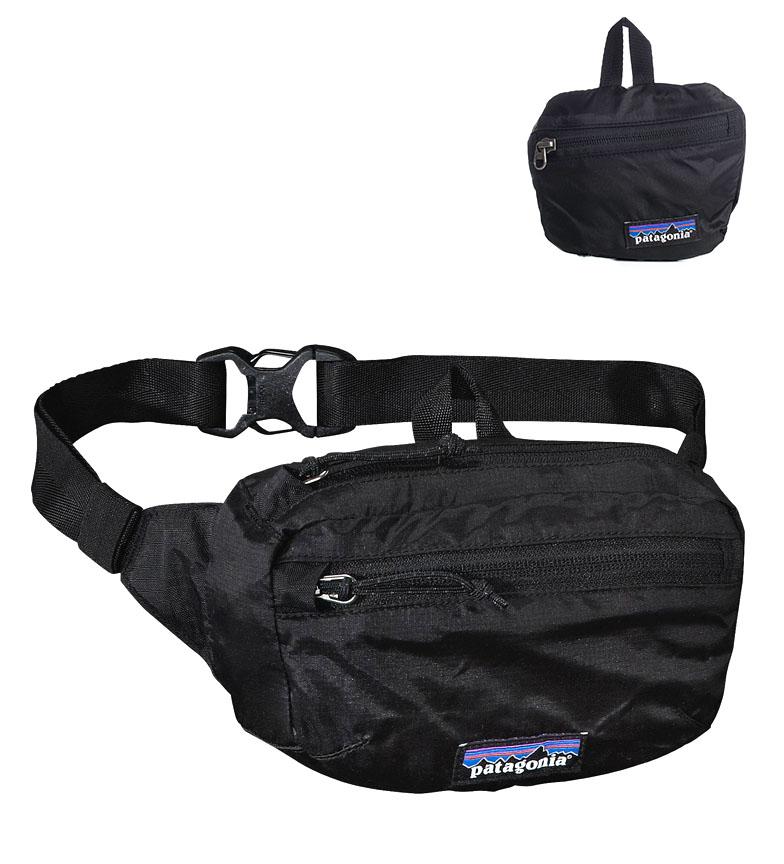 Comprar Patagonia LW Travel Bum bag black / 1L / 99g / 36x24x45cm