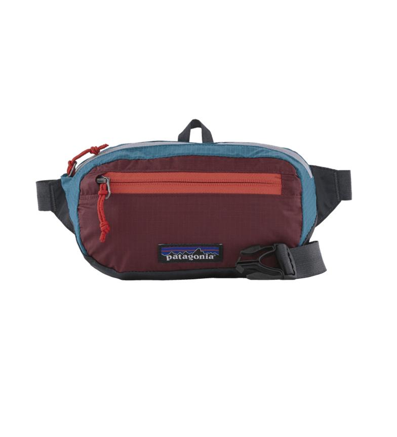Comprar Patagonia Mini Bum bag ultraleggero con foro nero 1L rosso -12x20,5x5cm