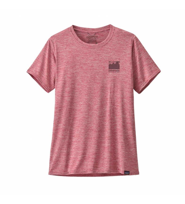 Comprar Patagonia T-shirt con grafica rosa Cap Cool Daily