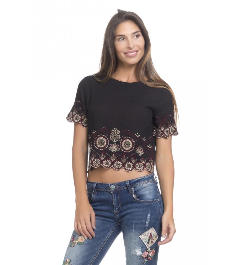Comprar Peace and Love Sira black blouse
