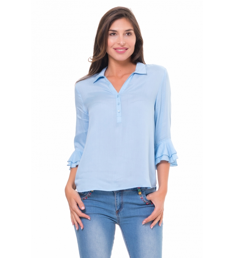 Comprar Peace and Love Blouse Lisa bleue