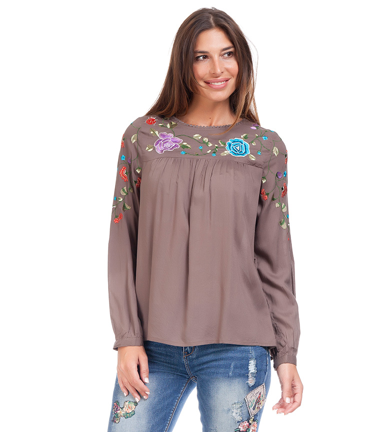 Comprar Peace and Love Blouse Maite taupe