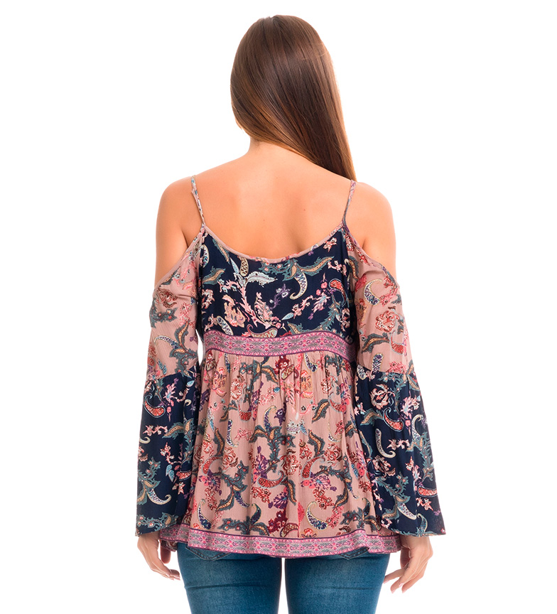 Multicolor And Nicla Love Blusa Peace qUjGLzpSMV