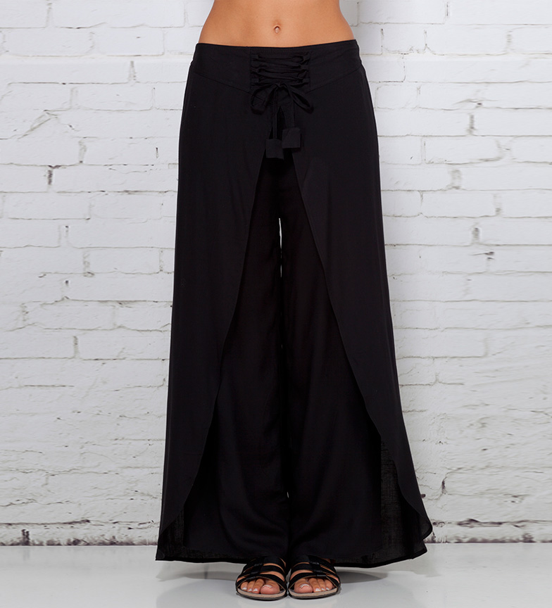 Comprar Peace and Love Thoros black trousers
