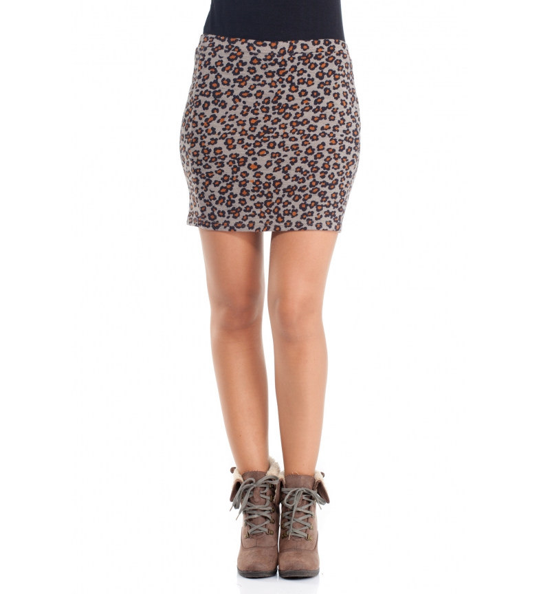 Comprar Peace and Love Minerva skirt, brown, black