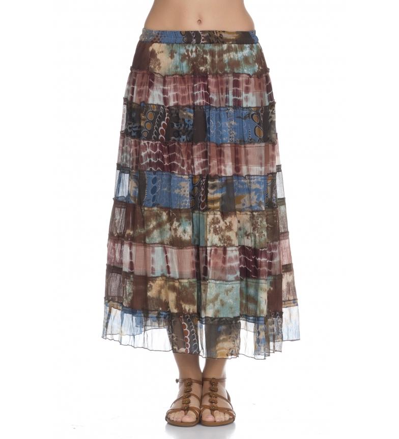 Comprar Peace and Love Multicolored Shiara skirt