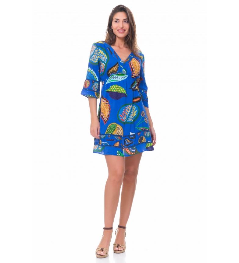 Comprar Peace and Love Vestido Blue Print