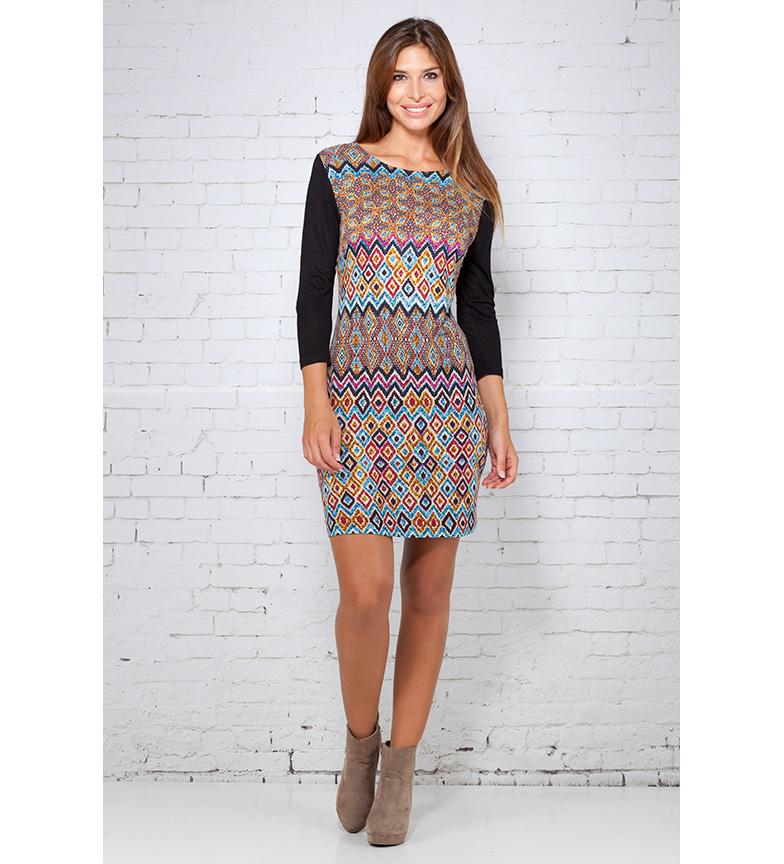 Comprar Peace and Love Multicolor Fatima dress