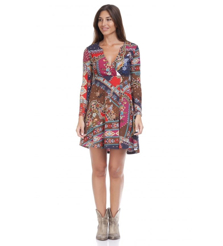 Comprar Peace and Love Vestido Shaila multicolor