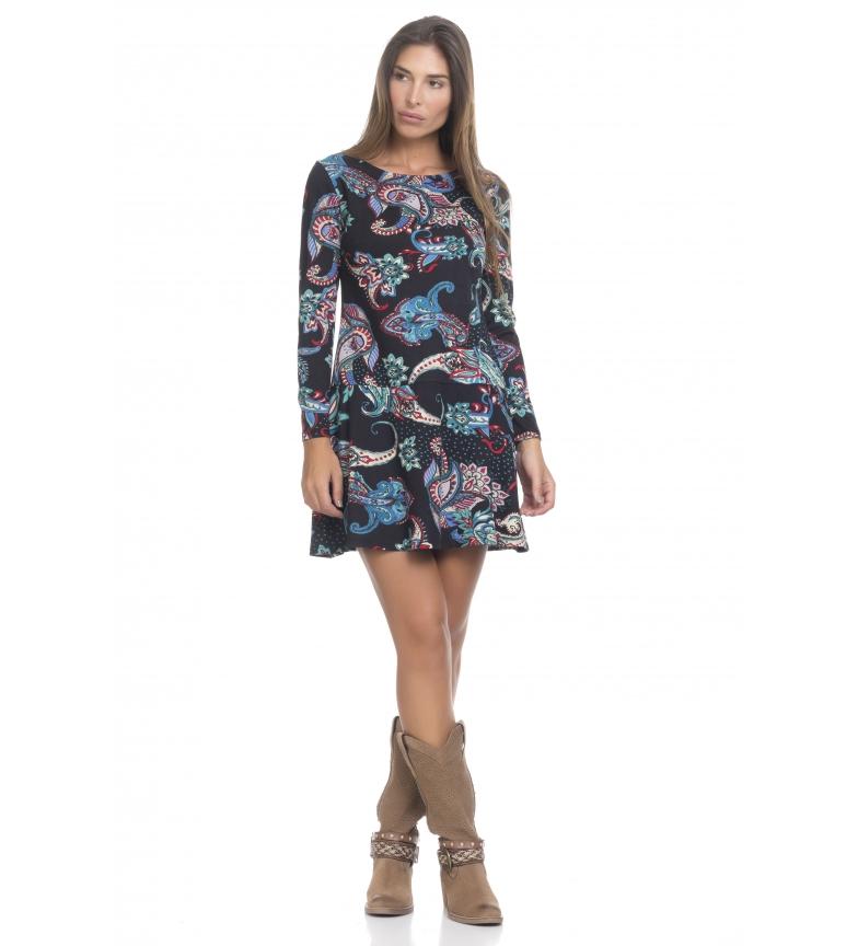 Comprar Peace and Love Black cashmere dress