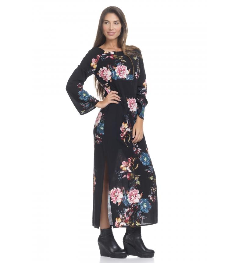 Comprar Peace and Love Long black dress