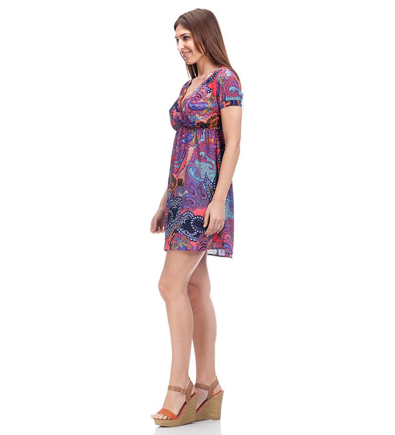 Peace and Love Vestido Hibba multicolor