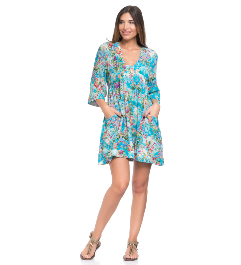 Comprar Peace and Love Robe bleue iris