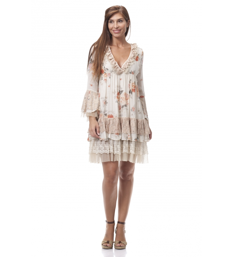 Comprar Peace and Love Milena dress beige
