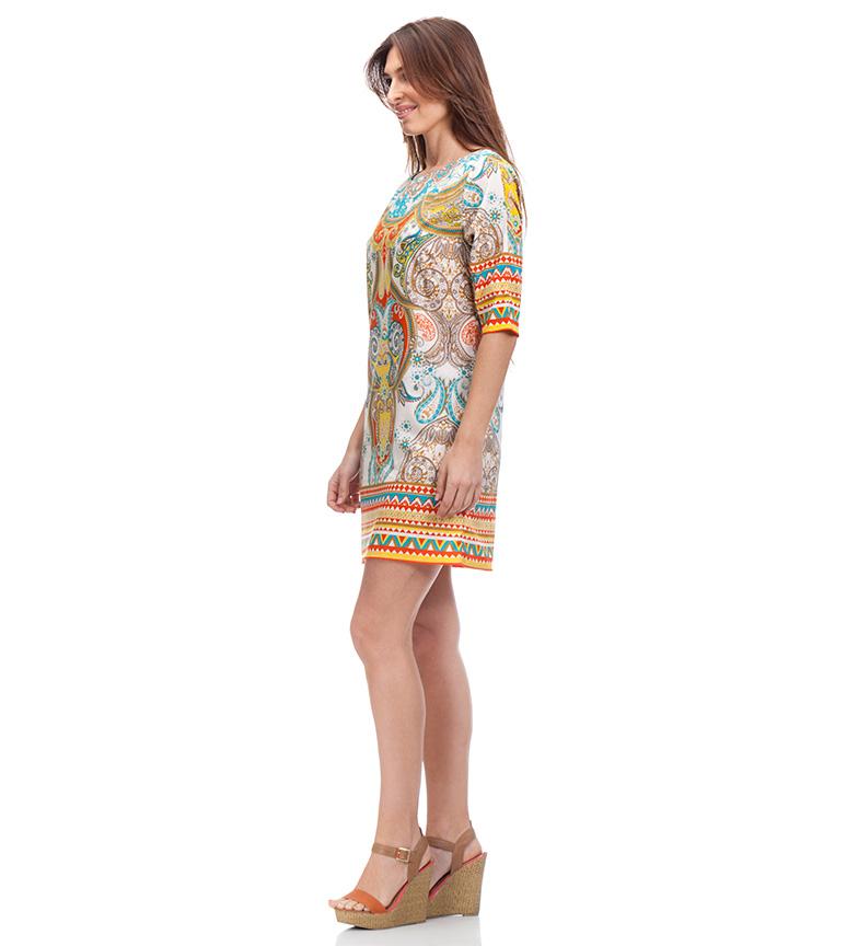 Peace and Love Vestido Oria multicolor