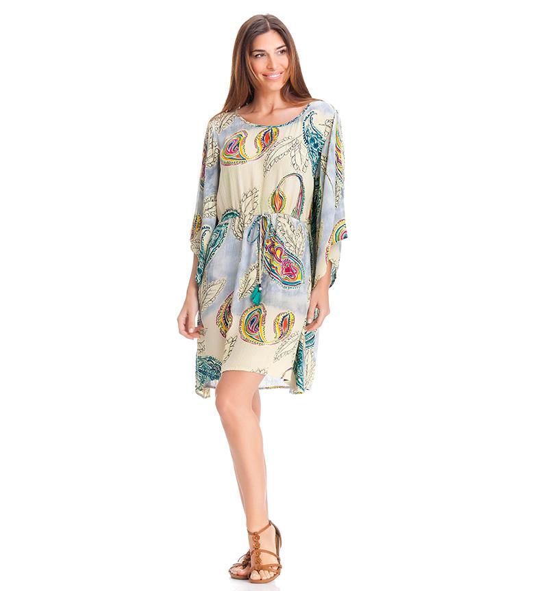 Peace and Love Vestido t�nica Nazaret multicolor