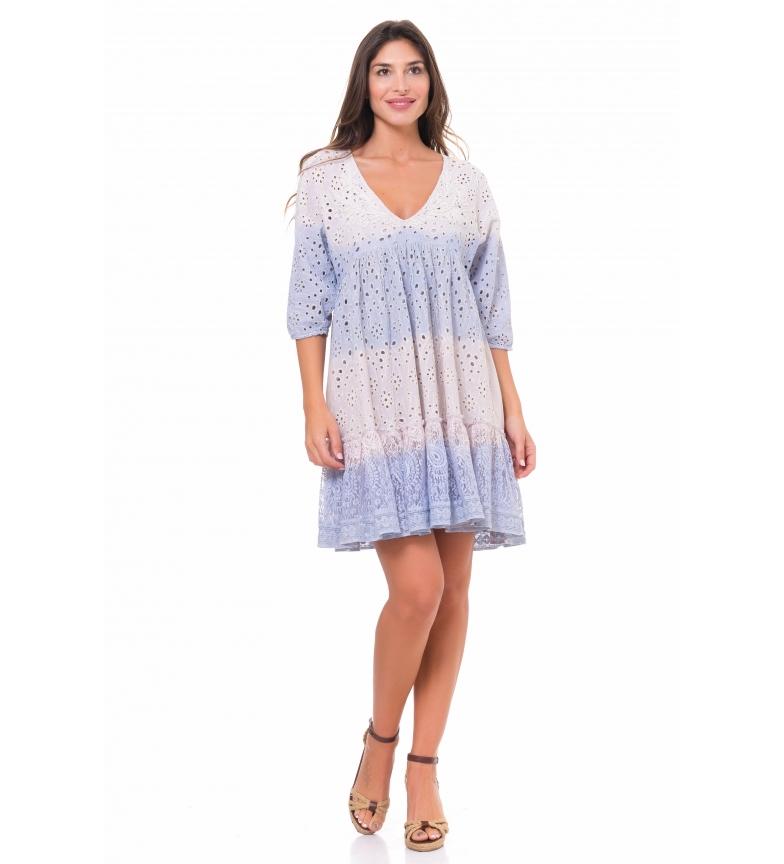 Comprar Peace and Love Lilac Tye Dye dress