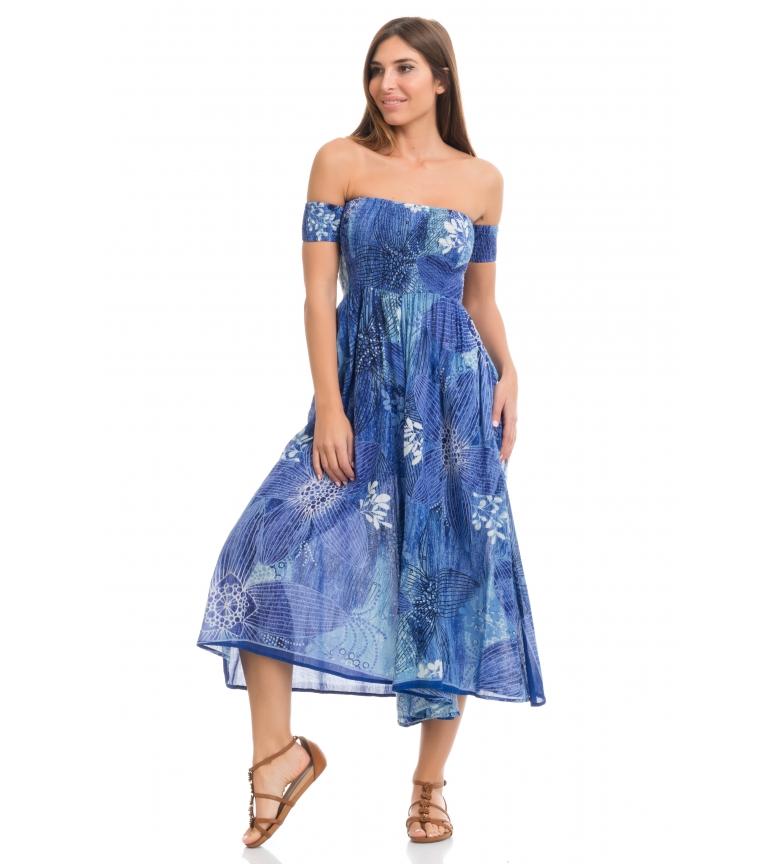 Comprar Peace and Love Vestido Maden azul