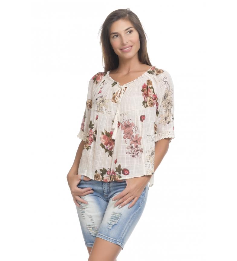 Comprar Peace and Love Blusa Paloma crudo, floral