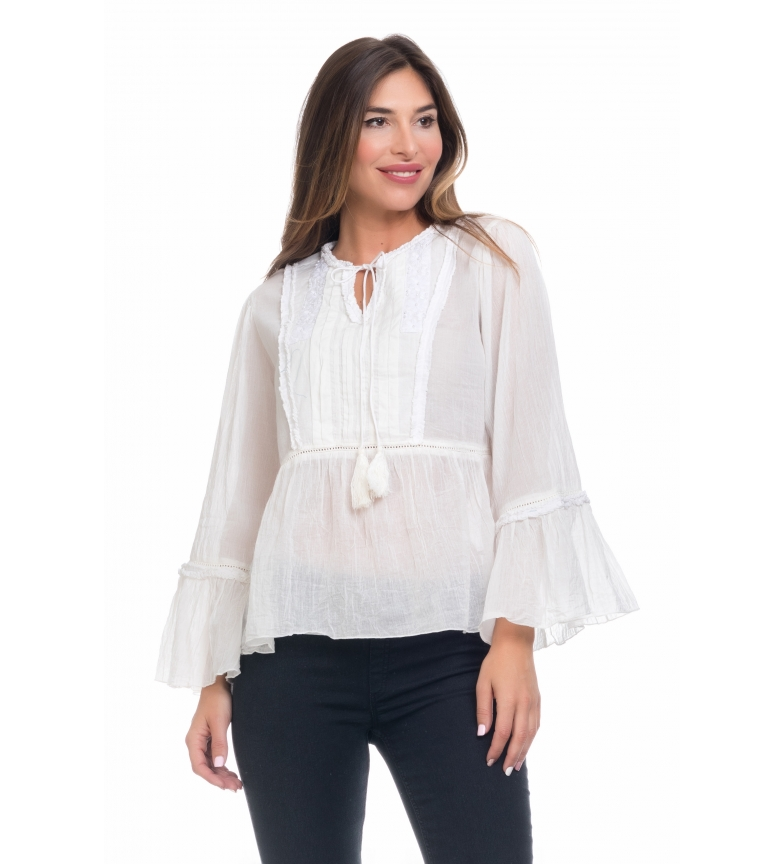 Comprar Peace and Love Sara blouse raw