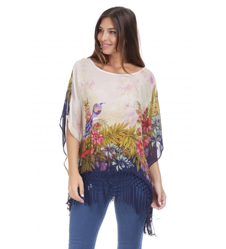 Comprar Peace and Love Blusa Sili multicolor