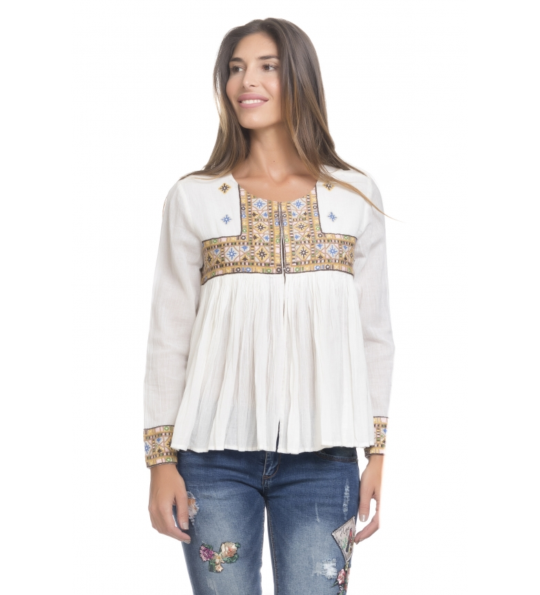 Comprar Peace and Love Brig blouse beige