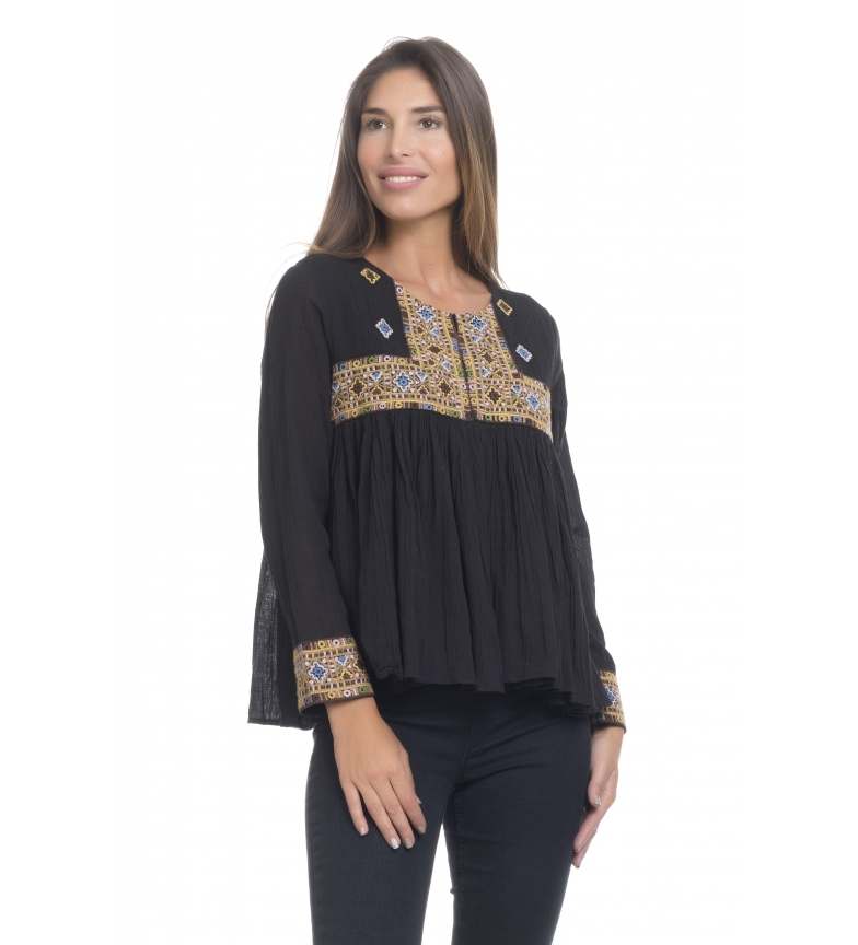 Comprar Peace and Love Blouse Brig noire