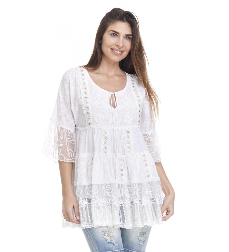 Comprar Peace and Love Blusa Zuria blanco