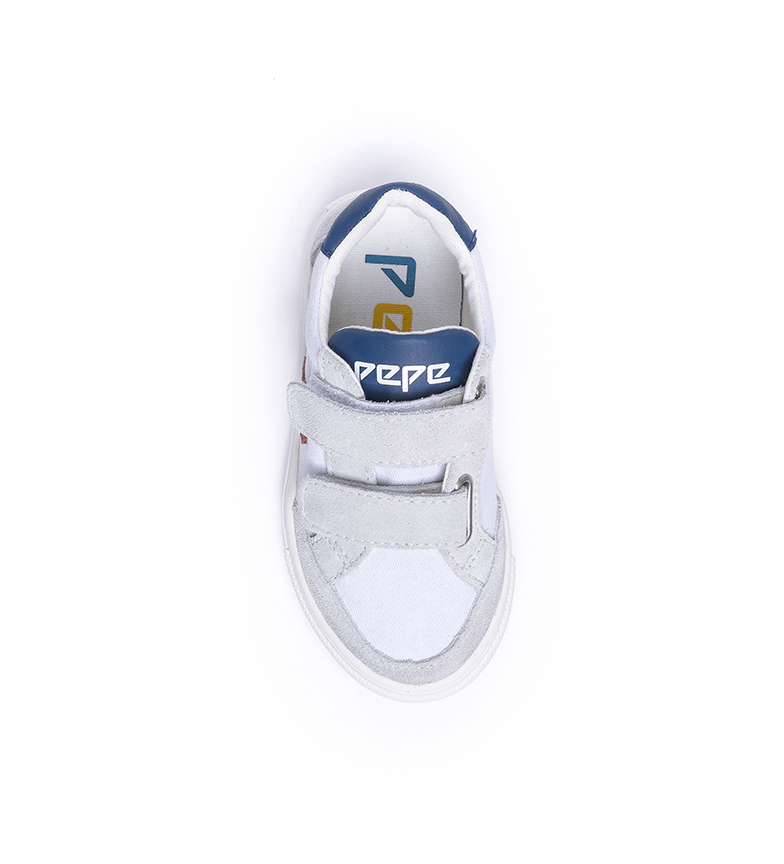 Pepe Jeans Adams Archive Kids shoes white