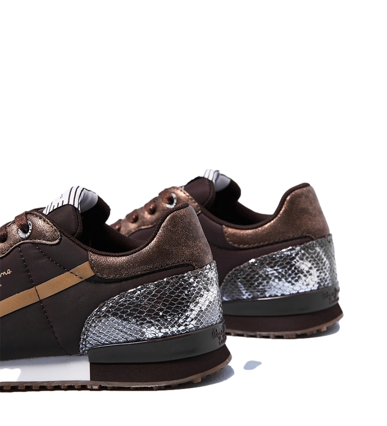 Pepe Jeans Sneakers Archie Top bronze