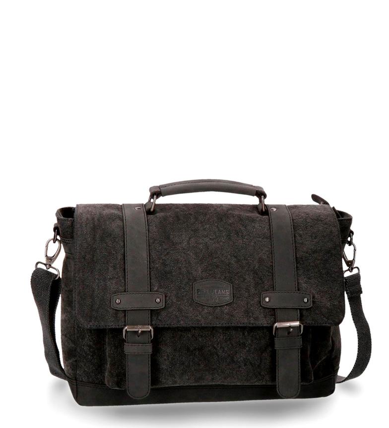 Comprar Pepe Jeans Cuir portable sac à bandoulière Pepe Jeans Black Horse
