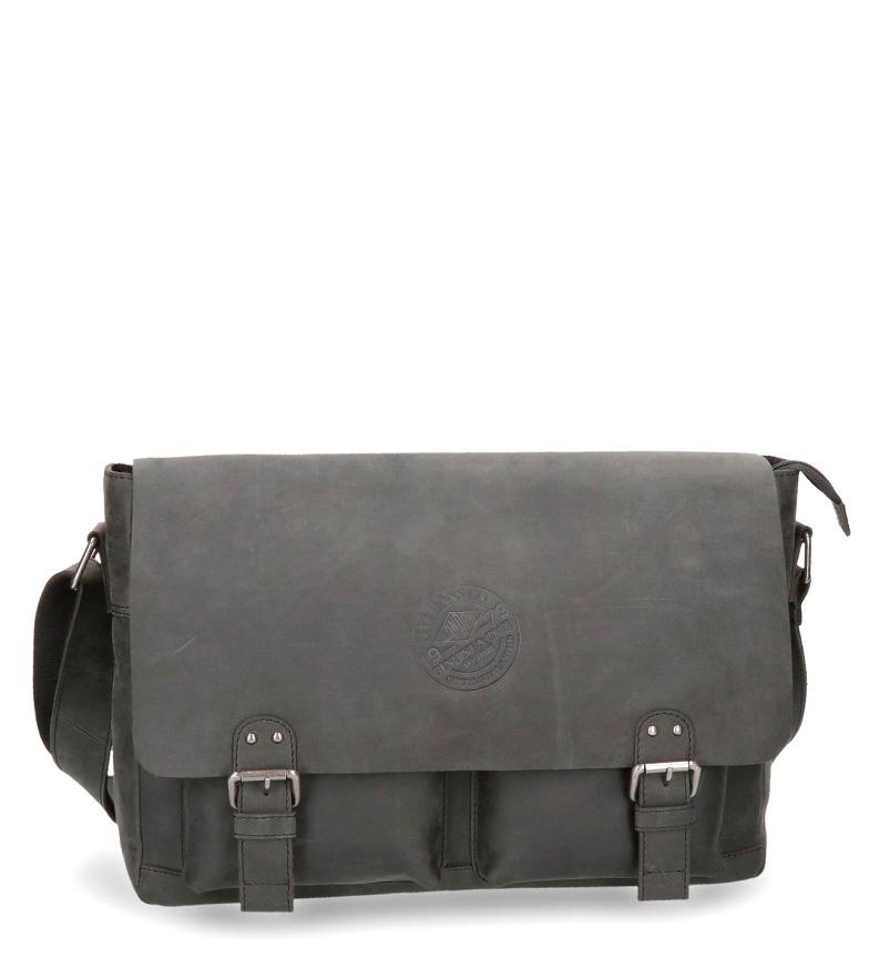 Comprar Pepe Jeans Pepe Jeans Aristocrat black leather shoulder bag