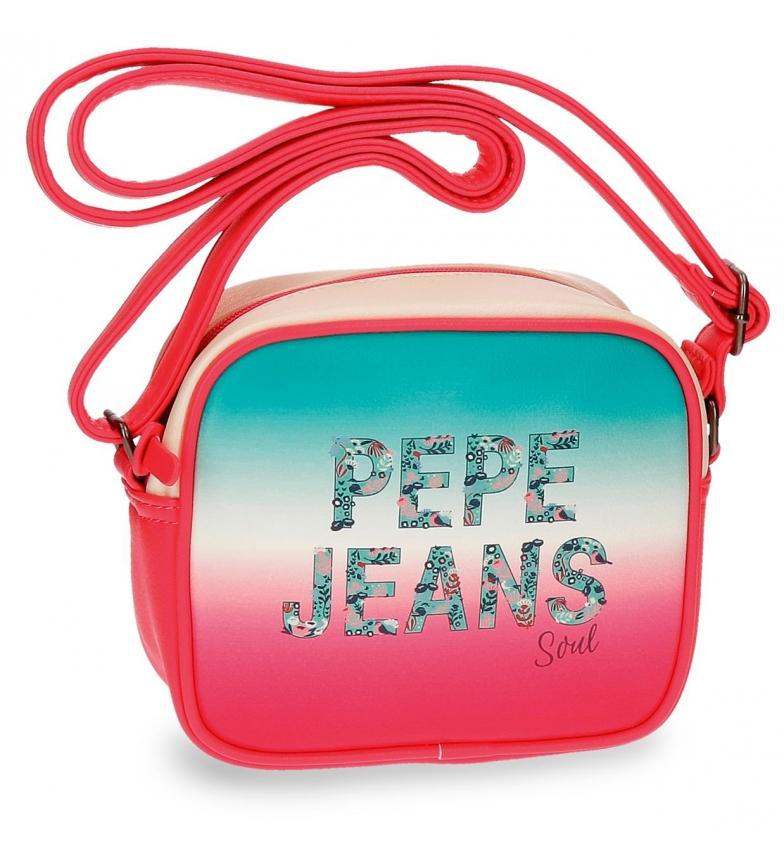 Comprar Pepe Jeans Bandolera Pepe Jeans Nicole rosa rosa -18x15x5cm-