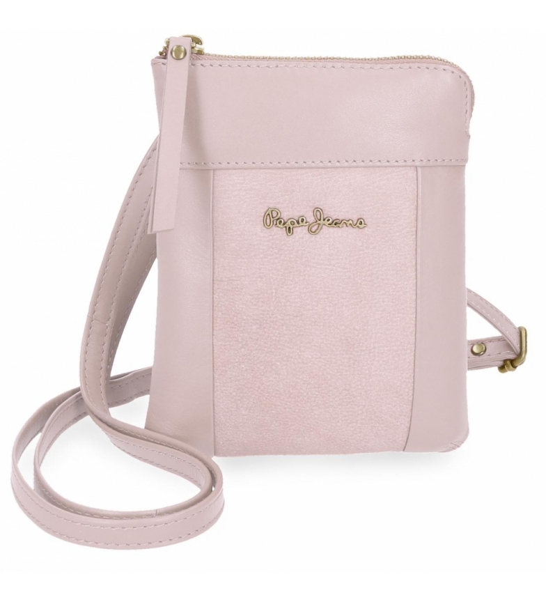 Comprar Pepe Jeans Small leather strap Pepe Jeans Double Pink -13x16,5x1,5cm