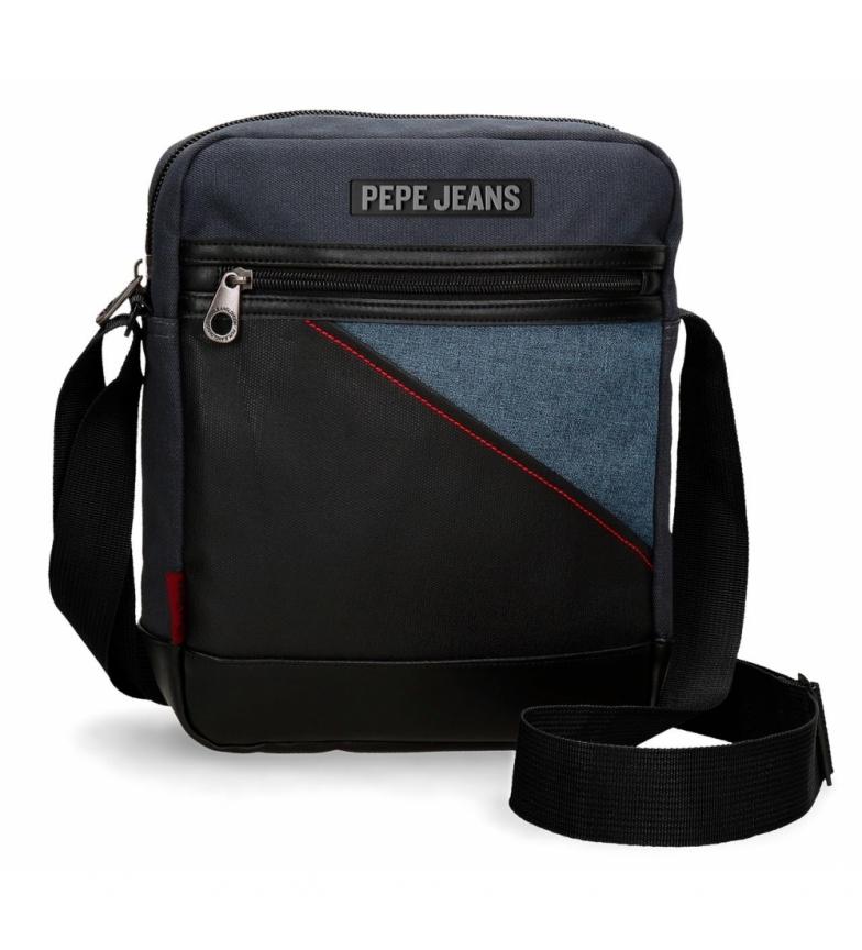 49e6b5b2fd Pepe Jeans - Borsa a tracolla Pepe Jeans Bumper -22x27x27x8cm Uomo Nero  Casual Poliestere
