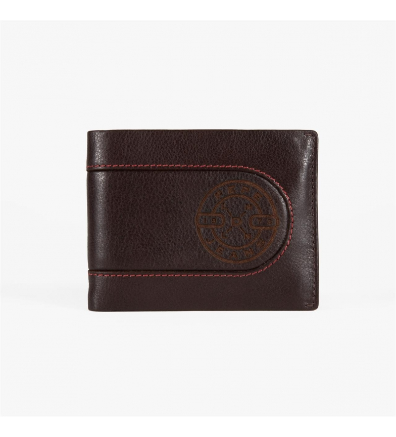 Comprar Pepe Jeans Pepe Jeans Burned horizontal wallet with removable Brown Wallet -11x8,5x1 cm-