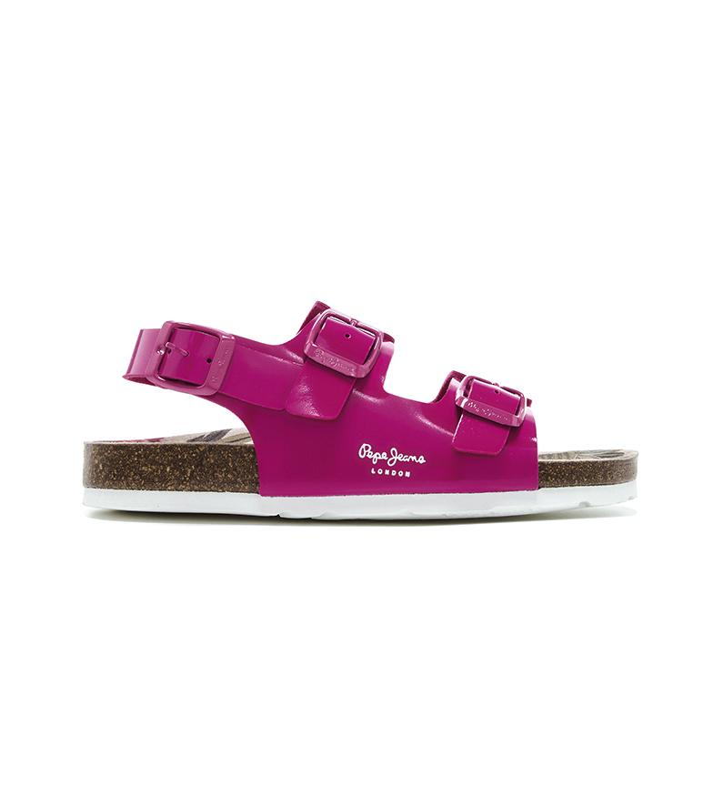 Comprar Pepe Jeans Fuchsia Bio Basic Buckles Sandals