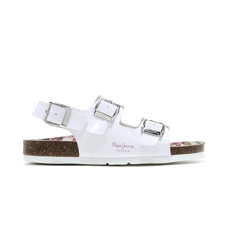 Comprar Pepe Jeans Sandálias Bio Basic Fivelas brancas