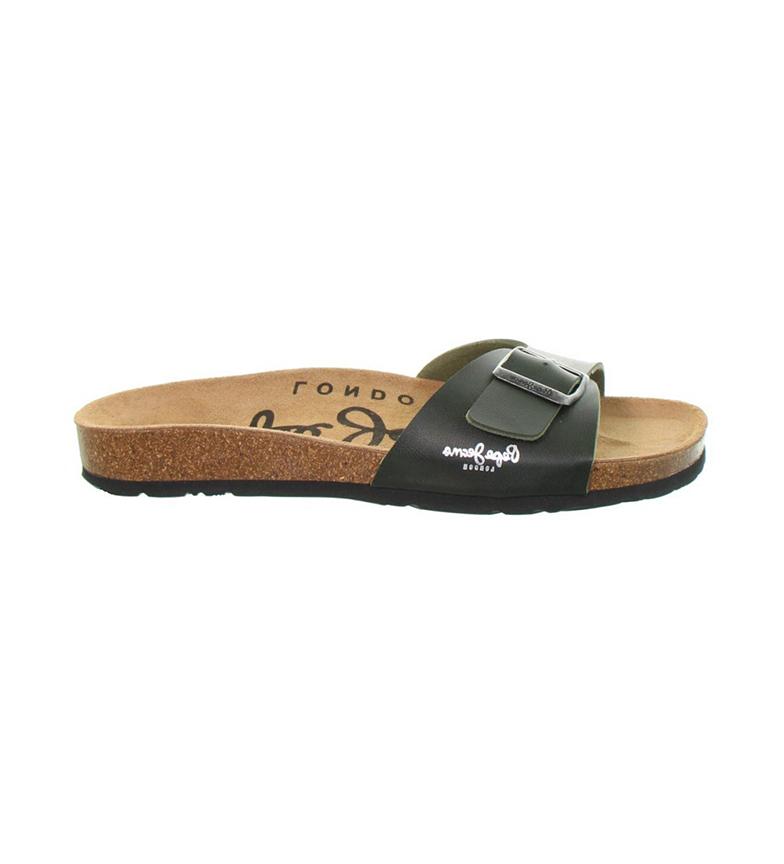 Comprar Pepe Jeans Bio Basic MFR green sandals