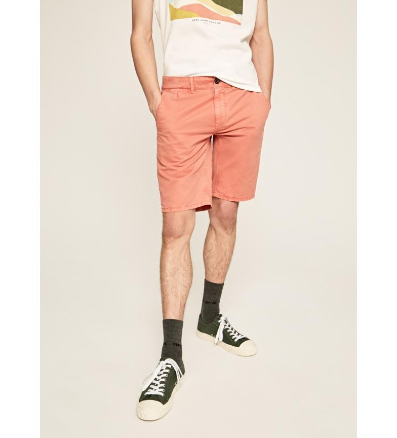 Comprar Pepe Jeans Corallo Blackburn di stile cinese delle Bermuda