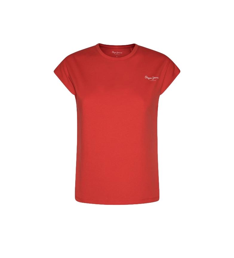 Comprar Pepe Jeans Maglietta basic rossa Bloom